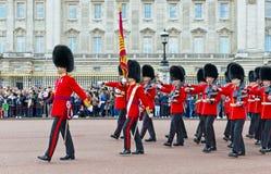 Οι βασιλικές φρουρές, Λονδίνο στοκ εικόνες