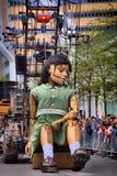 Οι γίγαντες είναι στο Μόντρεαλ Στοκ φωτογραφία με δικαίωμα ελεύθερης χρήσης