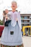 Οι γίγαντες παρελαύνουν σε Dunkirk - τη Φλαμανδική περιοχή στοκ φωτογραφία με δικαίωμα ελεύθερης χρήσης