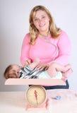 οι γιατροί μωρών επισκέπτονται Στοκ Εικόνες
