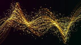 Οι γραμμές μορίων ανάβουν την κίνηση διανυσματική απεικόνιση