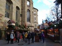 Οι γραφικές αγορές Χριστουγέννων Suttrart, Γερμανία στοκ φωτογραφίες με δικαίωμα ελεύθερης χρήσης