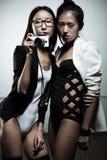 Οι γυναίκες διαμορφώνουν Στοκ φωτογραφία με δικαίωμα ελεύθερης χρήσης