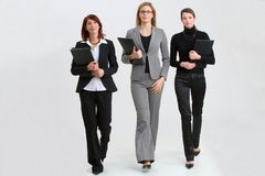οι γυναίκες εργάζονται Στοκ Εικόνα