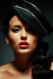 Οι γυναίκες με την τέλεια τέχνη αποτελούν Στοκ Εικόνες