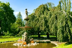 Οι δημόσιοι κήποι του Χάλιφαξ στοκ εικόνα με δικαίωμα ελεύθερης χρήσης