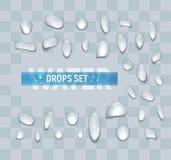 οι διαθέσιμες μορφές απελευθερώσεων eps8 jpeg θέτουν το ύδωρ Στοκ Εικόνα