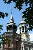 Οι δύο πύργοι σε Kampen Στοκ φωτογραφία με δικαίωμα ελεύθερης χρήσης