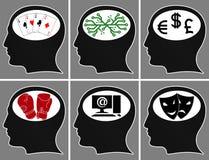 οι εγκέφαλοι επανδρώνο&ups Στοκ Φωτογραφία