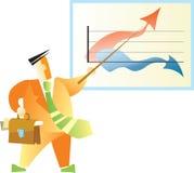 οι εικόνες επιχειρηματιών εμφανίζουν Απεικόνιση αποθεμάτων
