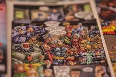 Οι εκδηκητές θαυμάζω comics superheroes στοκ εικόνες