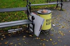 Οι εκλογές του Συμβουλίου playcard πετούν μακριά από τη βαριά θύελλα Στοκ φωτογραφία με δικαίωμα ελεύθερης χρήσης