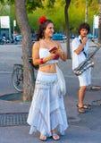 Οι εκτελεστές που δίνουν το δρόμο παρουσιάζουν Στοκ Εικόνες