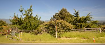Οι εντυπώσεις από το θέρετρο Pointe φάρων καθοδηγούν το αριθ. 1, Καλιφόρνια ΗΠΑ Στοκ εικόνα με δικαίωμα ελεύθερης χρήσης