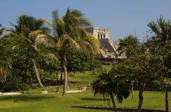 Οι εξωτικές καταστροφές Tulum Yucatan, Μεξικό Στοκ Φωτογραφίες