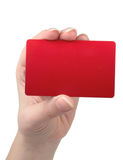 οι επαγγελματικές κάρτ&epsil Στοκ φωτογραφία με δικαίωμα ελεύθερης χρήσης