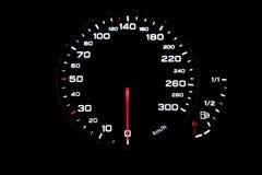 οι επαναστάσεις μηχανών αυτοκινήτων εμφανίζουν όχημα ταχυμέτρων ταχύτητας στοκ φωτογραφία με δικαίωμα ελεύθερης χρήσης