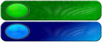 οι επικεφαλίδες γυαλιού δίνουν όψη μαρμάρου σε δύο Στοκ Εικόνες