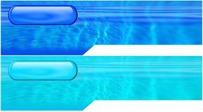 οι επικεφαλίδες διαμόρφωσαν υδατώδη Στοκ φωτογραφία με δικαίωμα ελεύθερης χρήσης