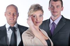 οι επιχειρηματίες διατά&zet στοκ φωτογραφία με δικαίωμα ελεύθερης χρήσης