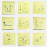 οι επιχειρησιακές σημε&io Στοκ Εικόνα