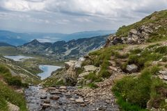 Οι επτά λίμνες Rila Στοκ εικόνες με δικαίωμα ελεύθερης χρήσης