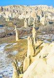Οι λεπτοί βράχοι Στοκ φωτογραφία με δικαίωμα ελεύθερης χρήσης