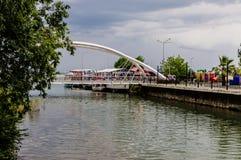 Οι εραστές γεφυρώνουν στην ημέρα Στοκ φωτογραφία με δικαίωμα ελεύθερης χρήσης