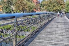 Οι εραστές γεφυρώνουν Στοκ φωτογραφίες με δικαίωμα ελεύθερης χρήσης