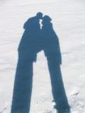 οι εραστές σκιάζουν Στοκ εικόνες με δικαίωμα ελεύθερης χρήσης