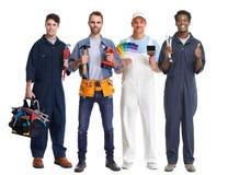 Οι εργαζόμενοι ομαδοποιούν Στοκ Εικόνες