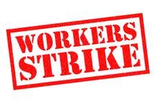 Οι εργαζόμενοι χτυπούν ελεύθερη απεικόνιση δικαιώματος
