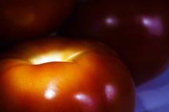 Οι εύγευστες ντομάτες κλείνουν επάνω στοκ φωτογραφία