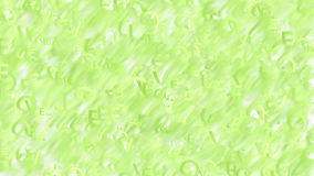 Οι ζωντανεψοντες πράσινες λέξεις αγαπούν το αφηρημένο υπόβαθρο διανυσματική απεικόνιση