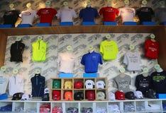 Οι ΗΠΑ ανοίγουν 2014 αναμνηστικά στο εθνικό κέντρο αντισφαίρισης βασιλιάδων της Billie Jean Στοκ φωτογραφίες με δικαίωμα ελεύθερης χρήσης