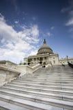 Οι ΗΠΑ Capitol στο ΣΥΝΕΧΈΣ ΡΕΎΜΑ της Ουάσιγκτον. Στοκ εικόνα με δικαίωμα ελεύθερης χρήσης