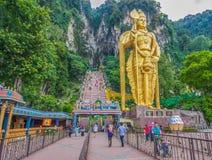 Οι θαυμάσιες σπηλιές Batu, Μαλαισία στοκ εικόνες