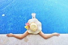 Οι θερινές διακοπές και χαλαρώνουν την έννοια τρόπου ζωής Στοκ Εικόνα