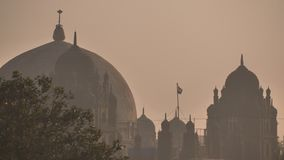 Οι θόλοι των κτηρίων σε Mumbai r απόθεμα βίντεο