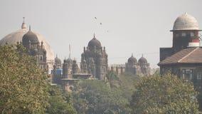 Οι θόλοι των κτηρίων σε Mumbai r φιλμ μικρού μήκους