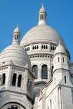 Οι θόλοι sacre-Coeur στοκ εικόνες