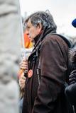 Οι διαμαρτυρόμενοι σύλλεξαν στο pla της τετραγωνικής κυβέρνησης διαμαρτυρίας Kleber Στοκ εικόνες με δικαίωμα ελεύθερης χρήσης