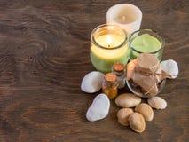 Οι ιδιότητες aromatherapy Στοκ Εικόνα