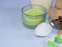 Οι ιδιότητες aromatherapy Στοκ εικόνες με δικαίωμα ελεύθερης χρήσης