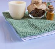 Οι ιδιότητες aromatherapy Στοκ φωτογραφίες με δικαίωμα ελεύθερης χρήσης