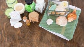 Οι ιδιότητες aromatherapy Στοκ εικόνα με δικαίωμα ελεύθερης χρήσης