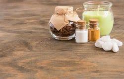 Οι ιδιότητες aromatherapy Στοκ Φωτογραφία