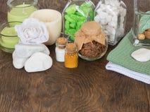 Οι ιδιότητες aromatherapy Στοκ φωτογραφία με δικαίωμα ελεύθερης χρήσης