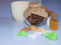 Οι ιδιότητες aromatherapy Στοκ Εικόνες