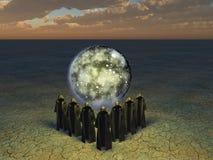 Οι ιερείς conjurer απεικόνιση αποθεμάτων
